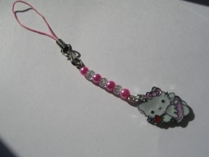 Hello Kitty phone charm